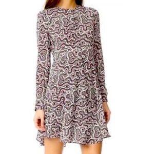 """ALC silk """"Randi"""" floral paisley mini dress"""